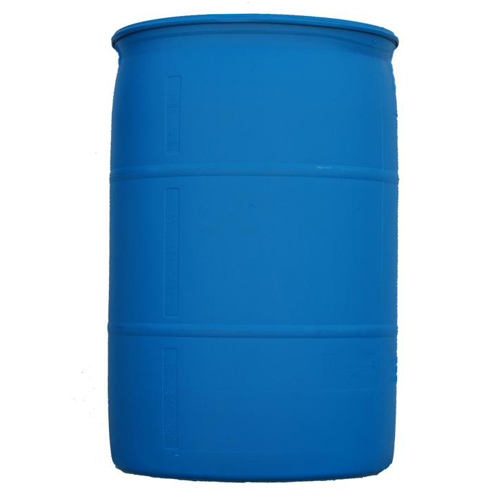 55 Gallon Blue Poly Drum D004B