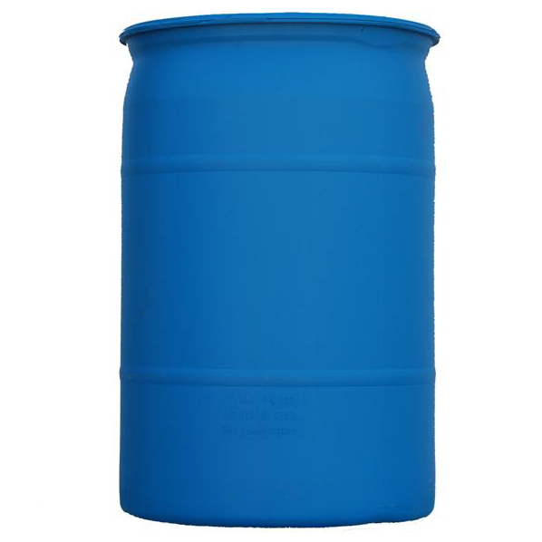 30 gallon Blue Poly Drum D021