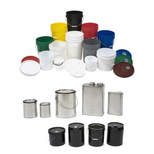 Buckets, Pails and Cans
