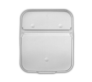 EZ Stor lid for 8 and 13 Gallon Rectangular EZ Stor WHITE PP P7950D