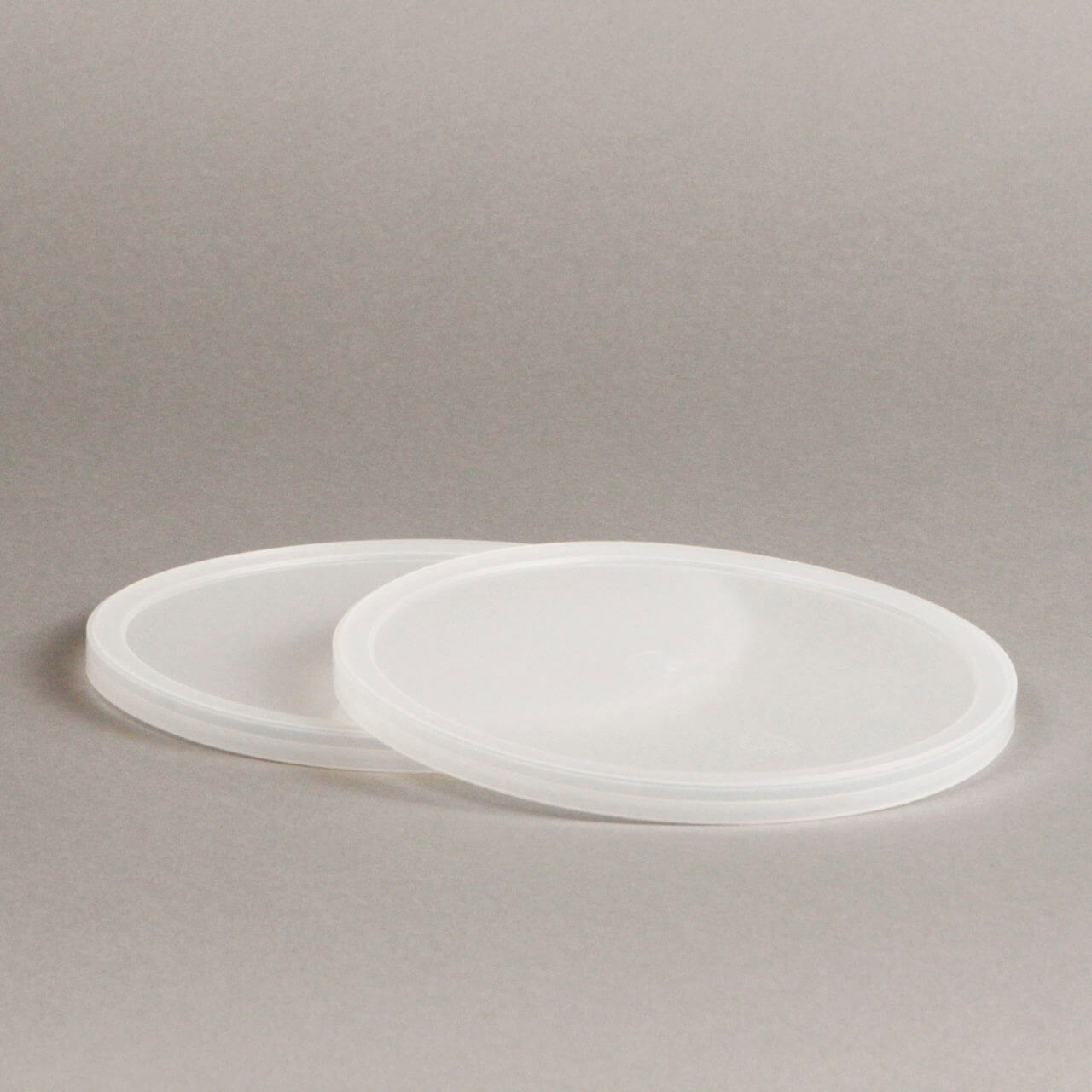 Natural LDPE Tub Lid – T359
