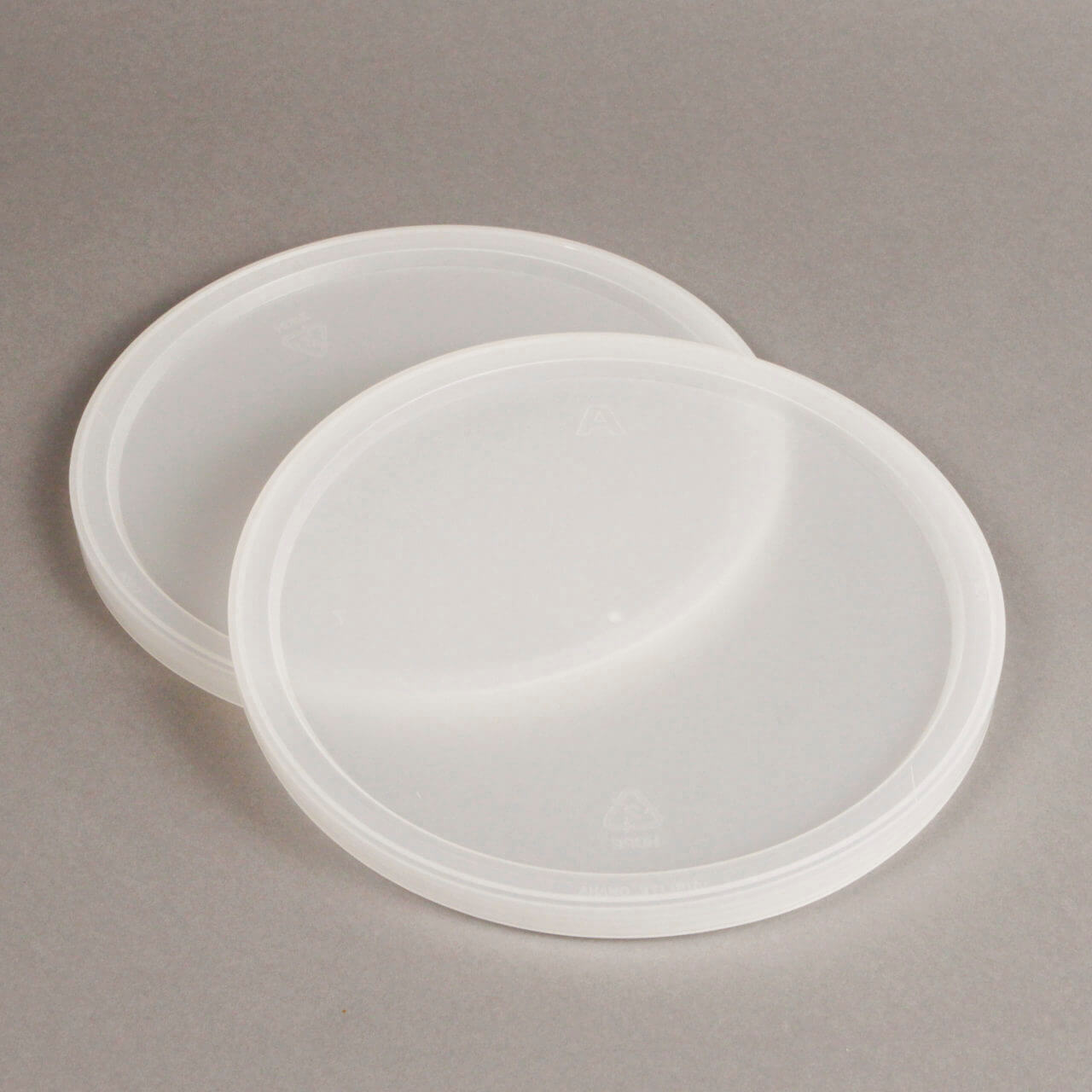 Natural LDPE Lid For 170 oz Tub – T374