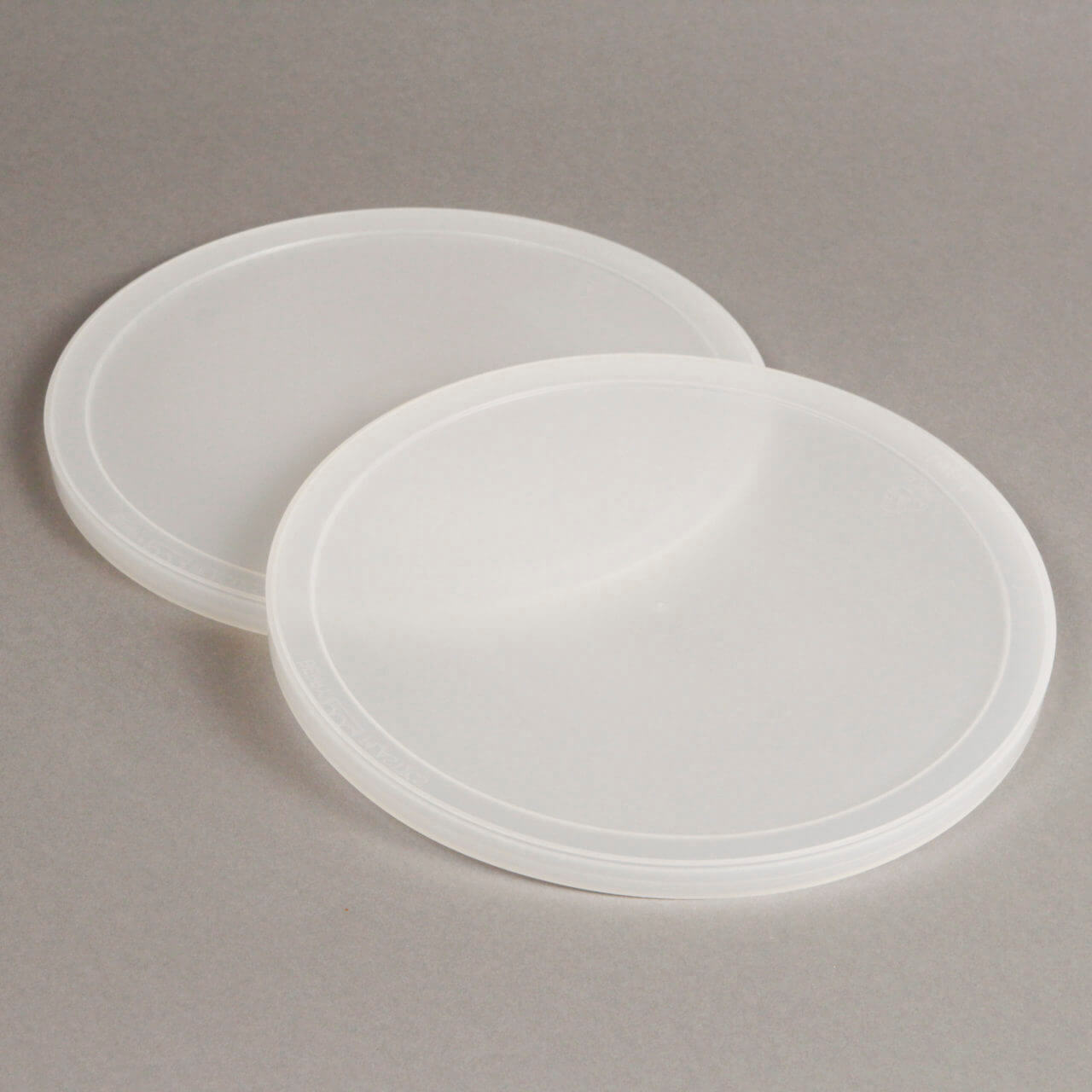 Natural LDPE Lid For 128 oz or 160 oz Tub – TB368