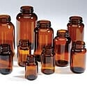 Glass Vitamin Packer Bottles